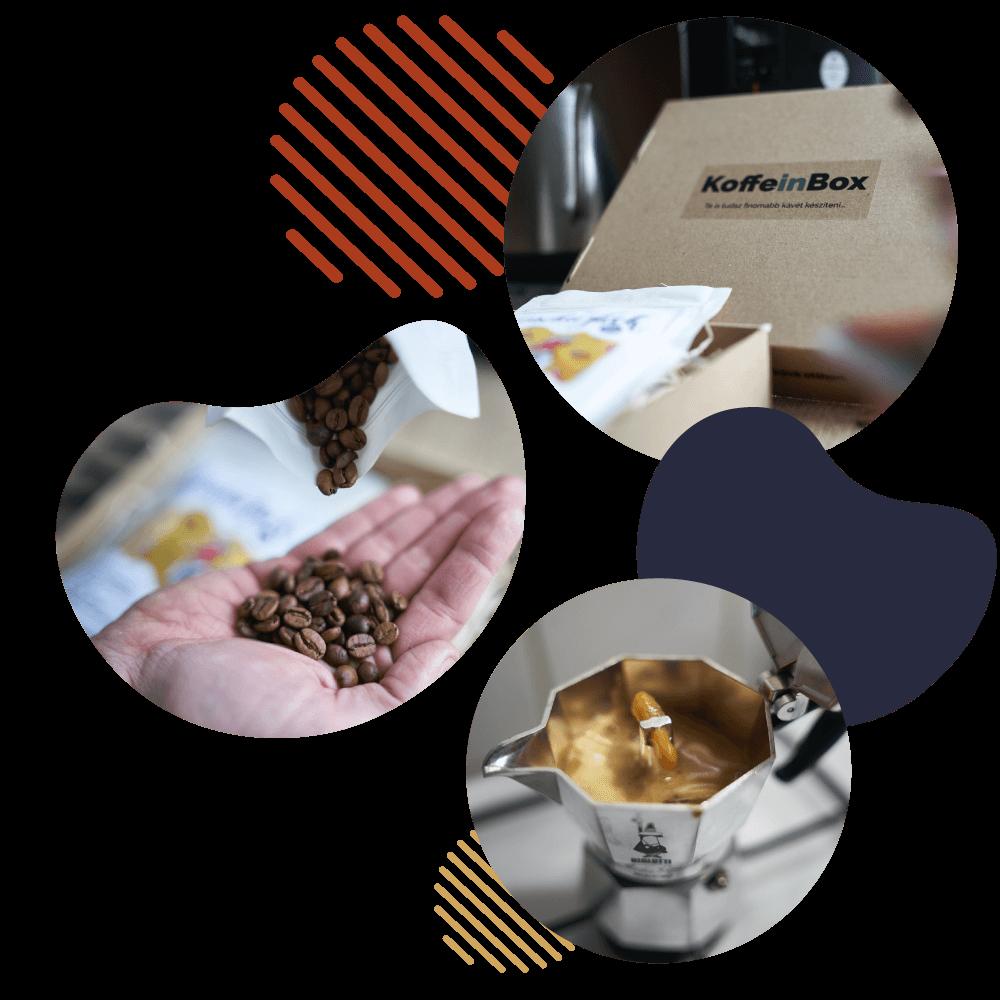 Kávé rendelés és előfizetés