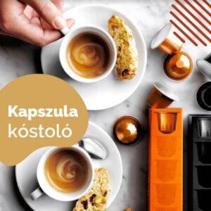 nespresso kompatibilis kávékapszula kóstolócsomag